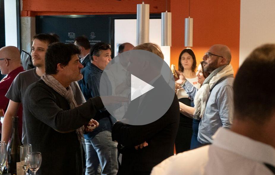 Vidéo inauguration UBICONSEIL à Tours